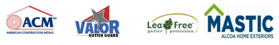 Image of Gutter & Siding Brand Logos
